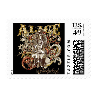 Queen Alice Carnivale Style (Gold Version) Postage