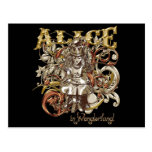 Queen Alice Carnivale Style (Gold Version) Postcard