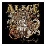 Queen Alice Carnivale Style (Gold Version) Poster