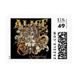 Queen Alice Carnivale Style (Gold Version) Stamps