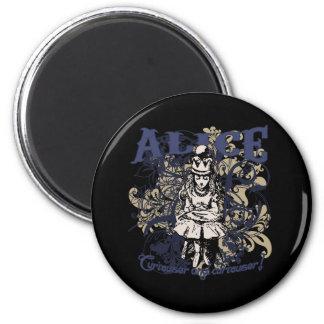 Queen Alice Carnivale Style Fridge Magnet
