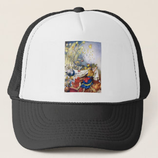 Queen Alice Experiences Fireworks in Wonderland Trucker Hat