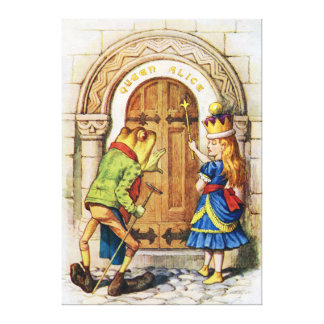 Queen Alice, from Alice Through the Looking Glass Canvas Print