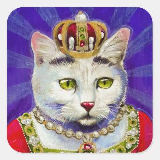 Queen Alice of Felonia Square Sticker