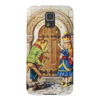 Queen Alice & the Frog in Wonderland Case For Galaxy S5