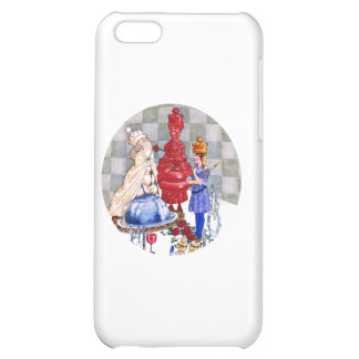 Queen Alice, The Red Queen & The White Queen Cover For iPhone 5C