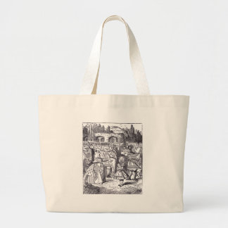 Queen and Alice Canvas Bag