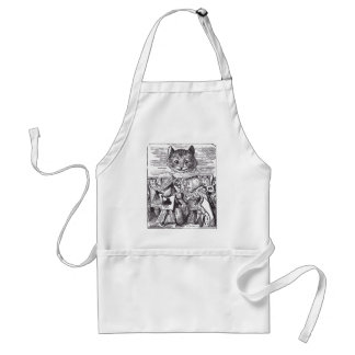 Queen and Cheshire Cat Apron