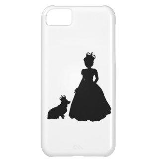 Queen and Corgi Iphone 5 case