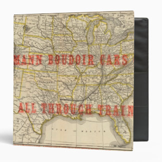 Queen and Crescent Route 2 3 Ring Binder