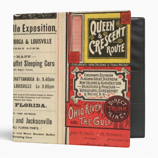Queen and Crescent Route Binder