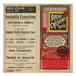 Queen and Crescent Route Poster
