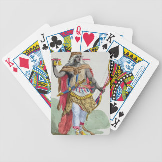 Queen Anna Nzinga (1583-1663), from 'Receuil des E Bicycle Playing Cards