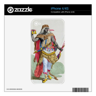Queen Anna Nzinga (1583-1663), from 'Receuil des E Skins For iPhone 4S