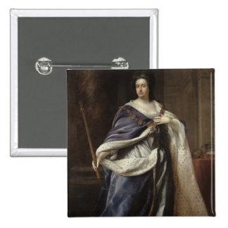Queen Anne, 1703 2 Inch Square Button