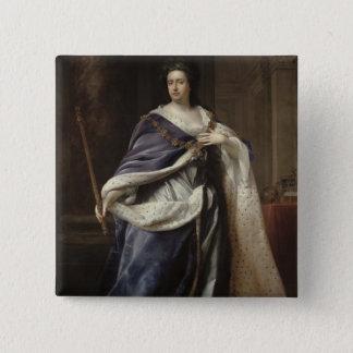 Queen Anne, 1703 Pinback Button