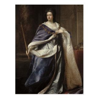 Queen Anne, 1703 Postcard