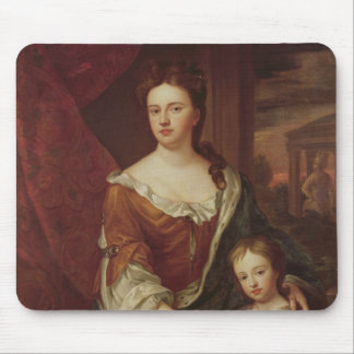 Queen Anne and William, Duke of Gloucester Mouse Pad