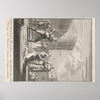 Queen Anne Boleyn Execution Poster