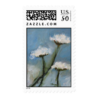 Queen Anne Lace Postage Stamp