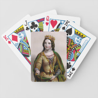 Queen Anne Neville Bicycle Playing Cards