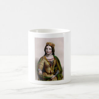 Queen Anne Neville Classic White Coffee Mug