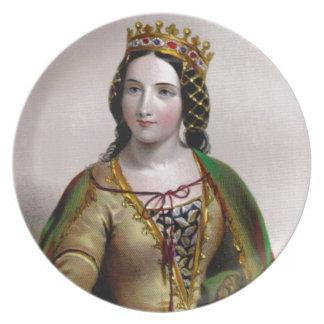 Queen Anne Neville Party Plates