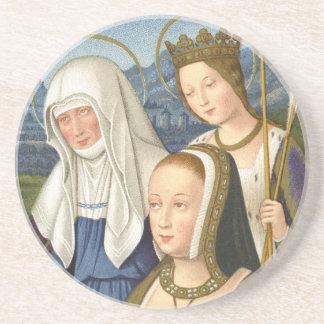 Queen Anne of Brittany Beverage Coaster