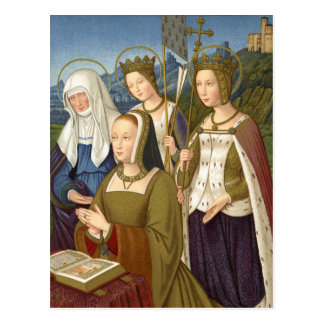 Queen Anne of Brittany Postcard