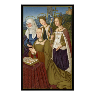 Queen Anne of Brittany Poster
