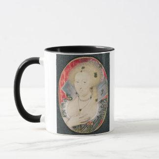 Queen Anne of Denmark, miniature Mug