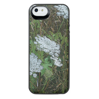 Queen Anne's Lace White Wild Flower iPhone SE/5/5s Battery Case
