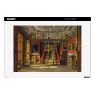 Queen Anne's Bed, Windsor Castle, from 'Royal Resi Decal For Laptop
