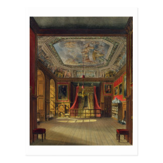 Queen Anne's Bed, Windsor Castle, from 'Royal Resi Postcard
