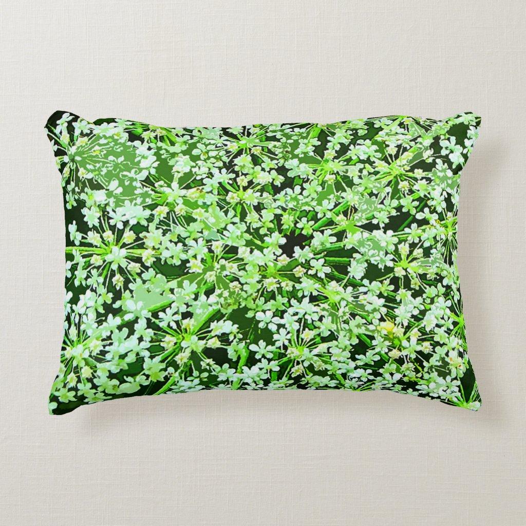 Queen Annes Lace Accent Pillow