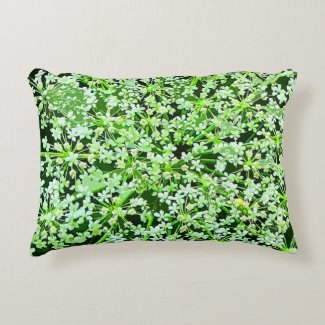Queen Annes Lace Accent Pillow