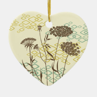 Queen Anne's Lace Address Tag Ornament