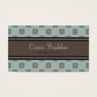Queen Anne's Lace Baby Blue Business Card