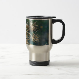 Queen Anne's Lace Close Up Travel Mug