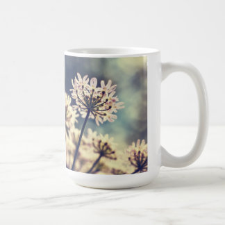Queen Annes Lace flowers coffee mug