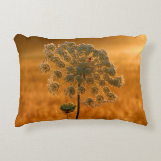 Queen Anne's Lace Greeting The Sun Decorative Pillow