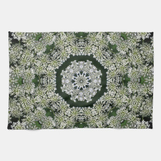 Queen Anne's Lace Kaleidoscope Hand Towel