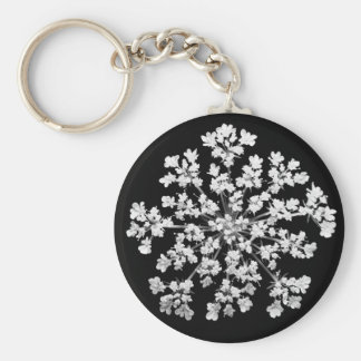 Queen Anne's Lace Key Chain