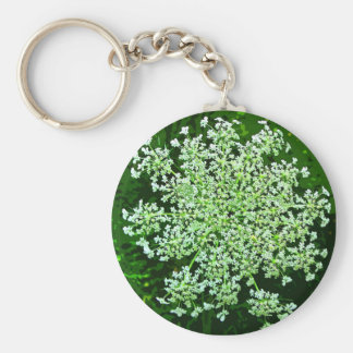 Queen Anne's Lace Keychain