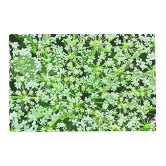 Queen Annes Lace Laminated Placemat