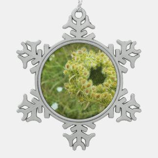 Queen Anne's Lace Photo Ornament