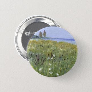 Queen Anne's Lace Pinback Button