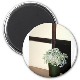 Queen Anne's Lace Refrigerator Magnet