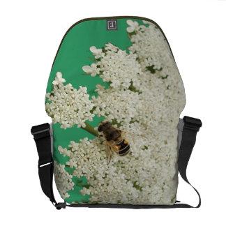 Queen Annes Lace Sage Green Rickshaw Bag Courier Bags