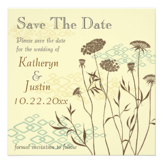 Queen Anne's Lace Save The Date Announcement